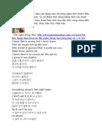 Tiếng Hàn Qua Bài Hát C-clown - Denstiny.