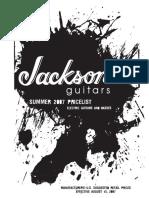 Jackson Summer 2007