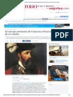 475 Aniversario de Su Muerte_ El Salvaj...Isco Pizarro y El Misterio de Su Tumba
