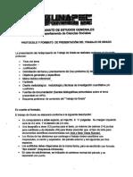 Protocolo presentacion Anteproyecto.