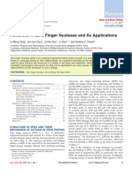 Advances in Zinc Finger Nuclease and Its Applications