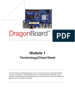 Dragon Board Terminology