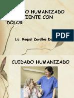 Cuidado Humanizado Del Paciente Con Dolor