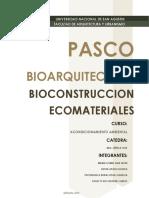 Pasco CLIMA (ELEMENTOS Y FACTORES)