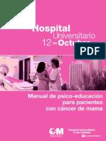 MANUAL DE PSICO-EDUCACIÓN P:PACIENTES CON CA MAMA