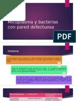 Micoplasma y Bacterias Con Pared Defectuosa