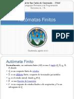 AutomataFinito Lengujes Formales Ing