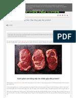 Cách Giảm Cân Và Săn Chắc - Hãy Tăng Gấp Đôi Protein