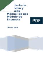 Manual de Instalacion y Uso Del Aplicativo
