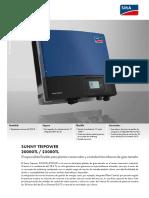 Ficha Técnica - SMA STP 2000 a 25000TL