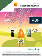 Manpasand Beverages Motilal Oswal