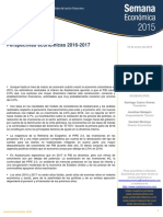 Proyecciones Económicas Colombia 2016
