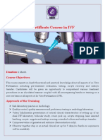 Certificate Course in IVF With IIRFT