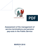 Assessment of the Management of Service Terminations and Pension Pay in the Public Service_18042016