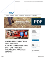 Rainwater Treatment