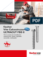 fischer Vite Calcestruzzo ULTRACUT FBS II