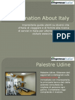 Information About Italy