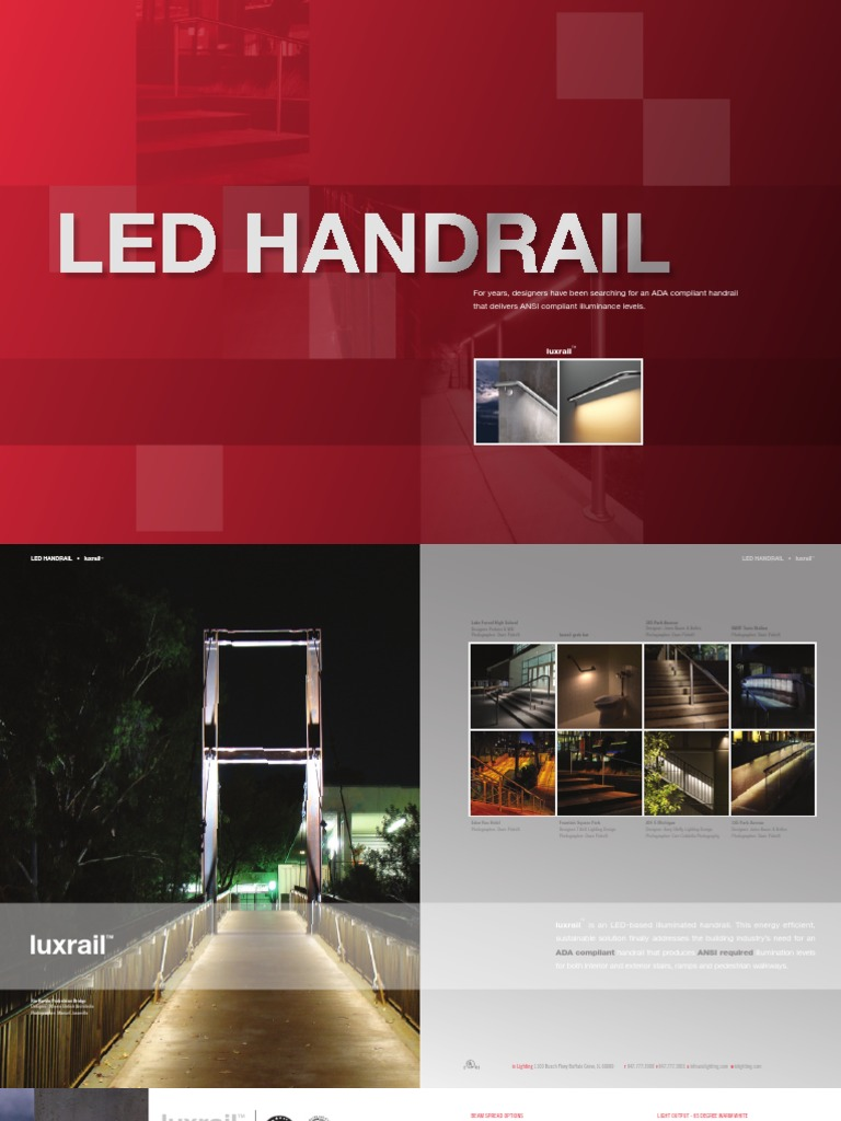 & LED Handrail | Power Supply | Building Engineering azcodes.com
