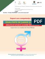 Egalitate de Şanse Şi de Gen-competente-civice