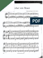 Wernher Von Braun - Tom Lehrer