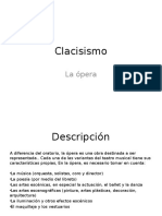 Clacisismo Opera