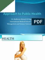 Public Health-1st Lecture