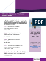 third sector research group flyer2
