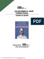 Reflexiones sobre el amor incondicional - Gandhi.pdf