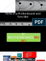 Parts of a Motherboard