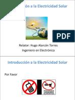 Instroduccion a La Electricidad Solar