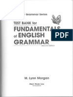 Fundamentals of English Grammar Test Bank 2nd Ed - 193p