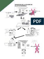 Poster-fabriquer de La Poudre de Feuilles de Moringa