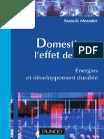 Domestiquer l'effet de serre - Energies et développement durable.pdf