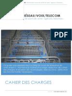Cahier Des Charges Infrastructures Reseau Point de Vente