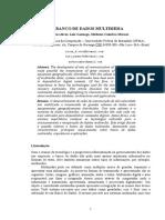 Banco de Dados Multimidia-Artigo