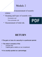 RISK & RETURN.ppt