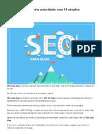 SEO Para Blog_ Ganhe Autoridade Com 10 Simples Otimizações