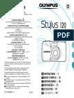 Olympus Stylus 120 Instructions Manual