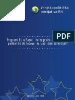 Programi EU u Bosni i Hercegovini – ravnopravan partner EU ili nedovoljno iskorišten potencijal?