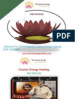 cosmic energy healing EMF devices