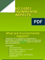 Environmental Aspects