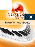 Jamorama Piano - Fingering Exercises - Web