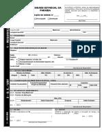 Formulario de Diárias - UEPB
