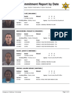 Peoria County Jail Booking Sheet for July 7, 2016