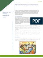AEP Orientation CaseStudy