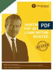 Australia's Top 30 Home Loan Myths