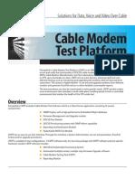 Promptlink - Cable Modem Test Platform