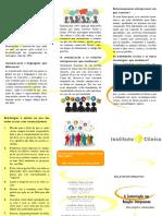 Instituto Clínico - Boletim informativo XI - julho/2016