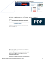 FPGAs Enable Energy-efficient Motor Control - Industrial Embedded Systems