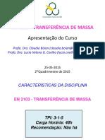 transferencia de massa